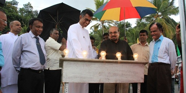 Three electrification projects in the Kegalle district vested on the people