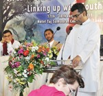"Hon. Patali Champika Ranawaka Addresses international Workshop on ""Sri lanka Wildlife enforcement Network – linking up with South Asia""."