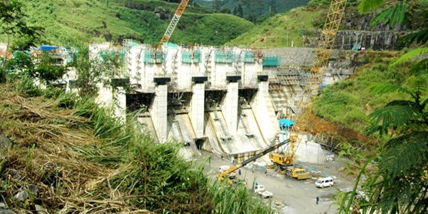 construction work on Upper Kothmale project complete.