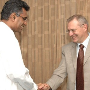 Russia-SL in Power talks.