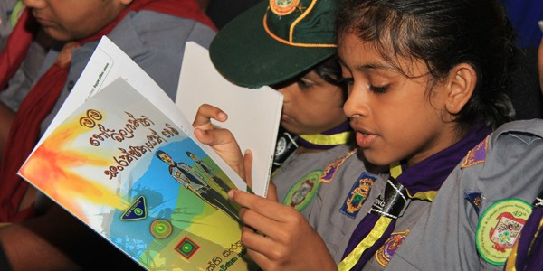 The scout movement joins the power conservation drive.