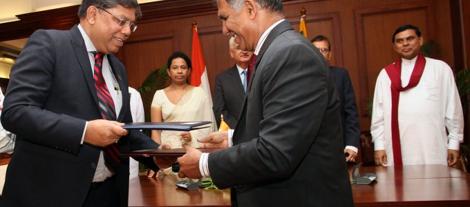 Marking a new milestone in Sri Lanka's thermal power generation, agreement signed for the Sampoor Coal power project….