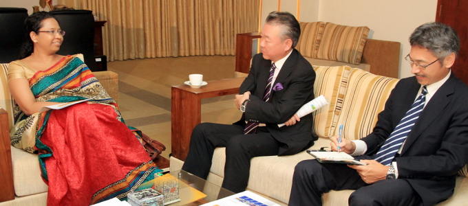 The  government of japan assist in the development of the power sector in sri lanka