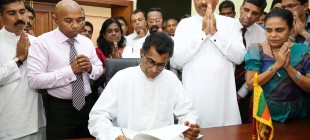 Patali Champika Ranawaka assumes duties as the new Minister of Power and Energy