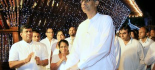 """Buddha Rashmi""  Vesak Zone illuminated by the Minister of Power and Energy Mr. Patali Champika Ranawaka"