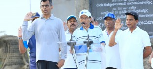 """Javana Shakthi Yatra"" launched under the patronage of the President"