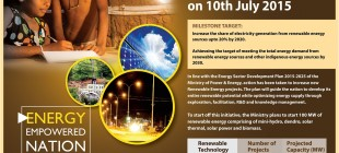 Launching of 100 MW Renewable Energy Projects on 10th July 2015