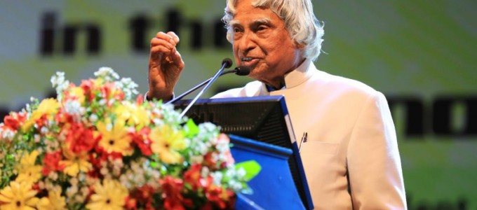Dr.Abduk Kalam addressed the future leaders of the nation