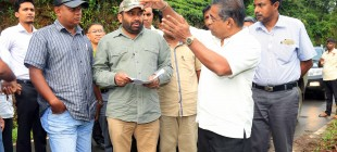 Final hydropower electricity project at Dehiowita