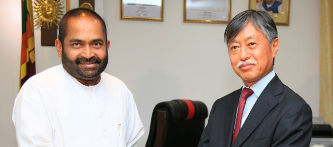Japan assists in the construction of Sampur power plant
