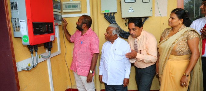 Providing a Package of Sola Power System to Places of Worship and Government Institutions in order to Introduce Solar Power Generation within the Society…