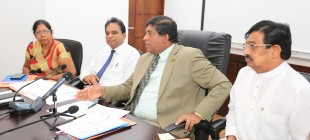 To draw the attention of the minister in charge of the subject regarding the incomplete projects of Ceylon electricity board  Minister instructed the officials of Ceylon electricity board to speed up the incomplete projects