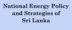 National Energy Policy and Strategies of SL