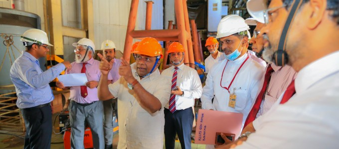 165 MW of Power to the National Grid from Kelanitissa Power Plant in near future……
