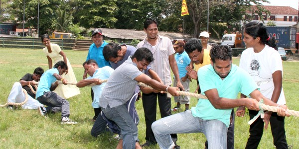 Bakmaha Ulela held at the Ministry of Power and Energy giving prominence to National Games