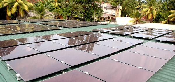 Turning to Solar Power and Setting up of the Net Metering Network, an investment for the future.