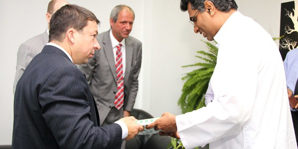 Bilateral talks on Power conservation and use of renewable energy sources.