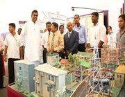 Ministers Visited the Deyata Kirula National Exhibition today.