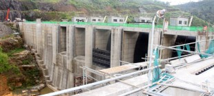 Upper Kothmale Hidro Power station water preservation project successful